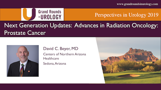 Next Generation Updates: Advances in Radiation Oncology: Prostate Cancer