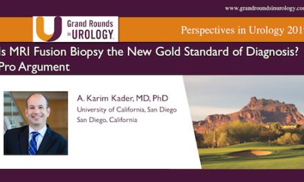 Is MRI Fusion Biopsy the New Gold Standard of Diagnosis? Pro Argument