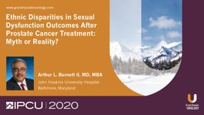 Ethnic Disparities in Sexual Dysfunction Outcomes After Prostate Cancer Treatment: Myth or Reality?