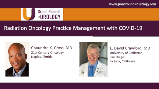Dr. Cross - Radiation Oncology Practice Management COVID-19