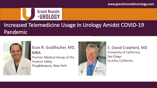 Increased Telemedicine Usage in Urology Amidst COVID-19 Pandemic