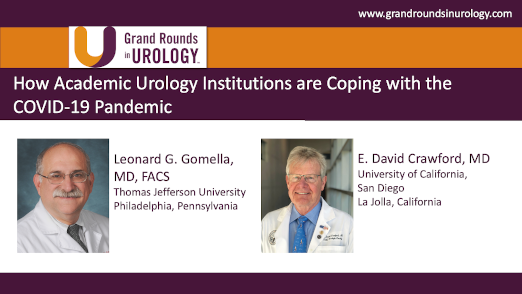 Dr. Gomella - Academic Urology COVID-19