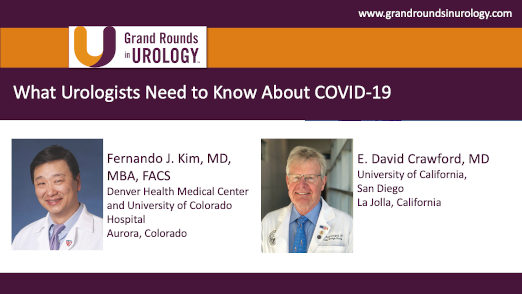Dr. Kim & Dr. Crawford - COVID-19 Urologists