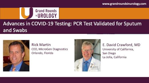 Rick Martin & Dr. Crawford - COVID-19 Testing