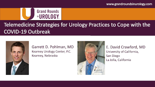 Dr. Pohlman - Telemedicine Strategies Urology Practices COVID-19