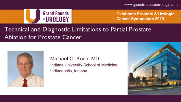 Technical and Diagnostic Limitations to Partial Prostate Ablation for Prostate Cancer
