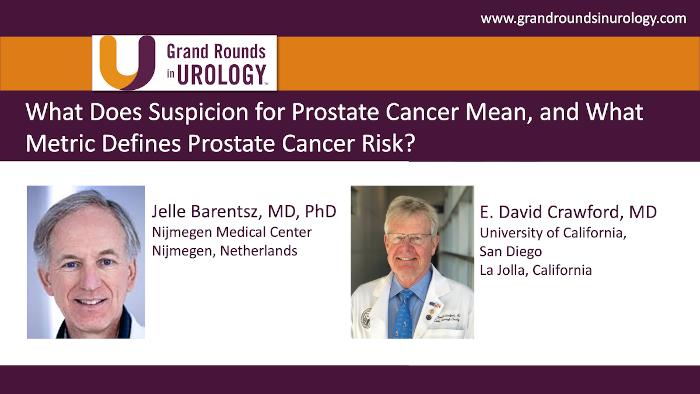 Dr. Barentsz - Suspicion of Prostate Cancer