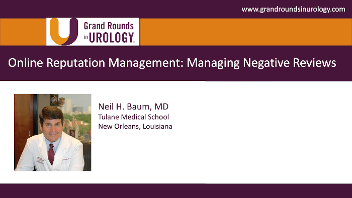 Dr. Baum - Managing Negative Reviews