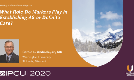 What Role Do Markers Play in Establishing Active Surveillance or Definitive Care?