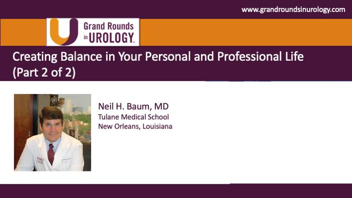 Dr. Baum - Personal Professional Balance Physicians