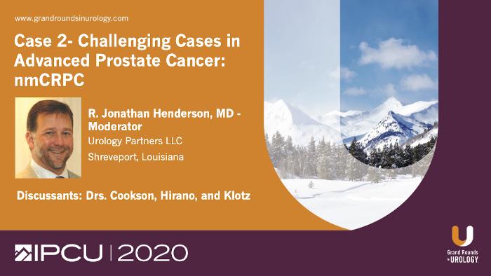Dr. Henderson - nmCRPC Case Study