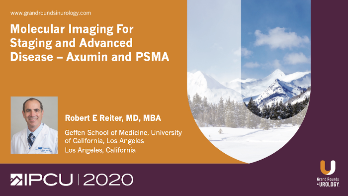 Molecular Imaging For Staging and Advanced Disease – Axumin and PSMA