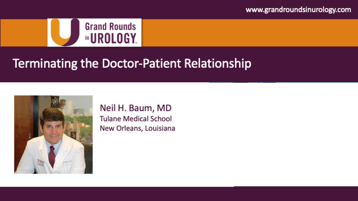 Dr. Baum - Terminating Doctor-Patient Relationship