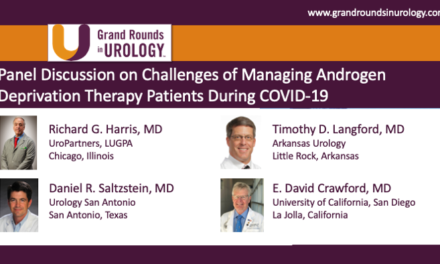 Panel Discussion on Challenges of Managing Androgen Deprivation Therapy Patients During COVID-19