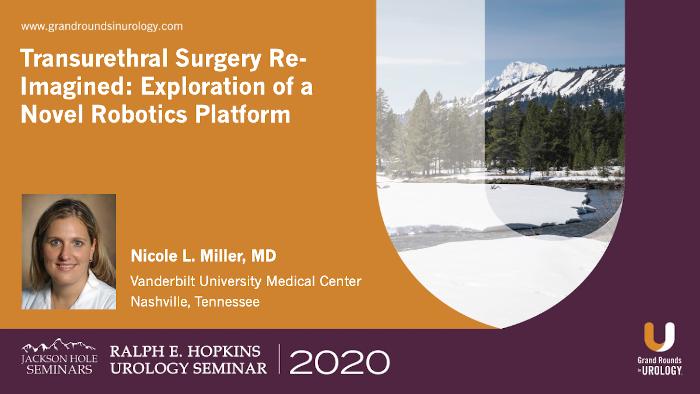Transurethral Surgery Re-Imagined: Exploration of a Novel Robotics Platform