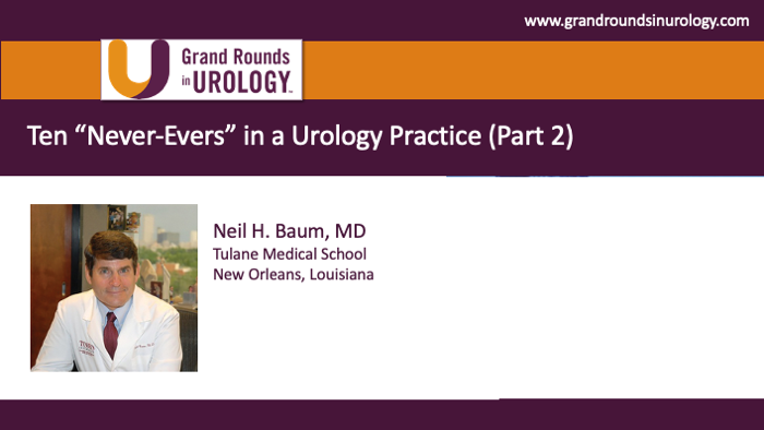 Dr. Baum - Urology Practice Management