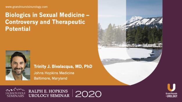 Biologics in Sexual Medicine – Controversy and Therapeutic Potential