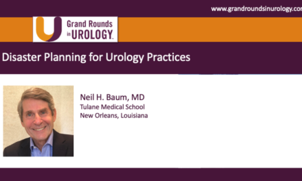 Disaster Planning for Urology Practices