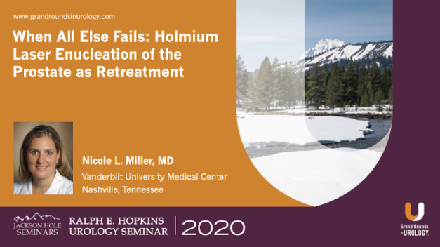 When All Else Fails: Holmium Laser Enucleation of the Prostate as Retreatment for BPH