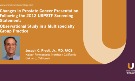 Changes in Prostate Cancer Presentation Following the 2012 USPSTF Screening Statement