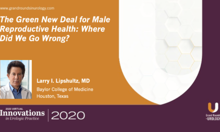 The Green New Deal for Male Reproductive Health: Where Did We Go Wrong?