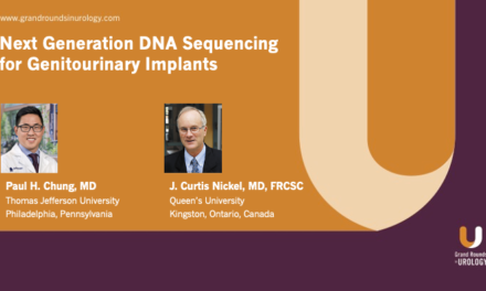 Next Generation DNA Sequencing for Genitourinary Implants