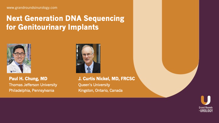 Dr. Chung - Genitourinary Implants DNA Sequencing