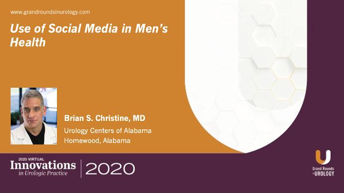 Use of Social Media in Men's Health Urologic Practice