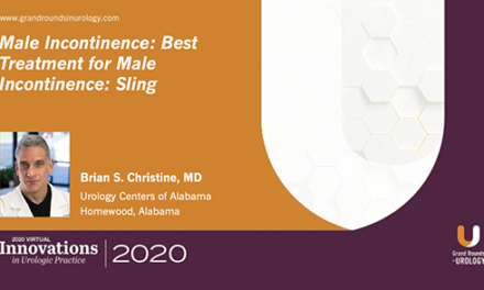 Best Treatment for Male Incontinence: Sling