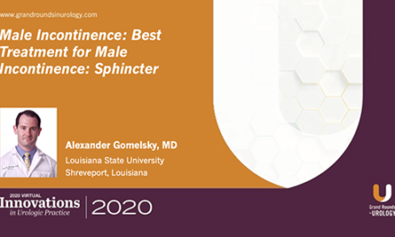 Best Treatment for Male Incontinence: Sphincter