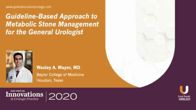 Guideline-Based Approach to Metabolic Stone Management for the General Urologist