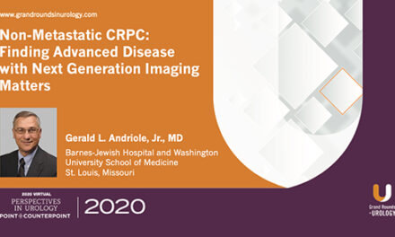 Non-Metastatic CRPC: Finding Advanced Disease with Next Gen Imaging Matters