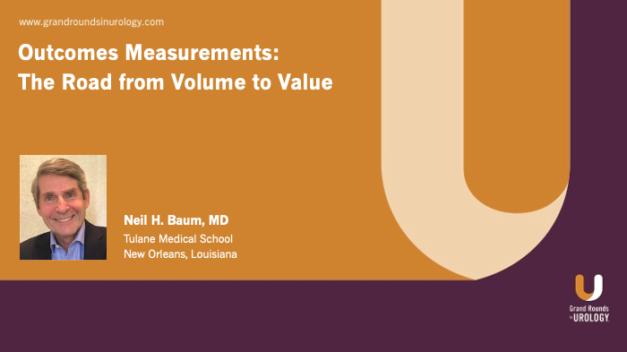 Outcomes Measurements: The Road from Volume to Value