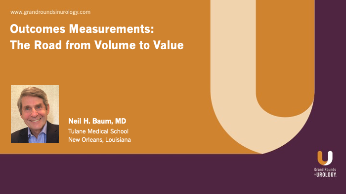Dr. Baum - Outcomes Measurements