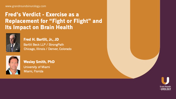 Fred Barlit & Dr. Smith - Exercise, Brain Health, and Fight or Flight