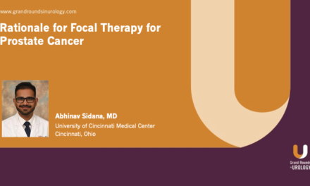 Rationale for Focal Therapy for Prostate Cancer