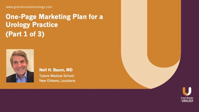 Dr. Baum - Marketing Plan Urology