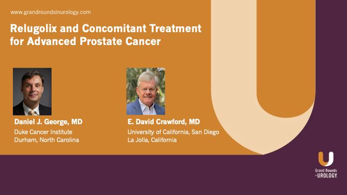 Dr. George - Relugolix Advanced Prostate Cancer