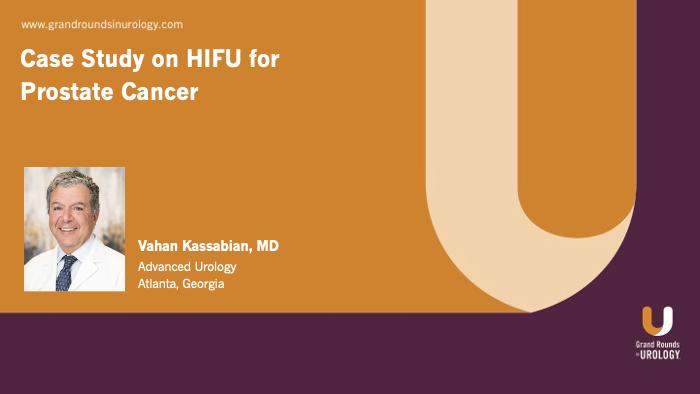 Dr. Kassabian - HIFU Case Study