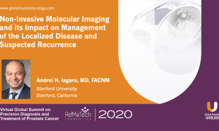 Non-Invasive Molecular Imaging and its Impact on Management of the Localized Disease and Suspected Recurrence