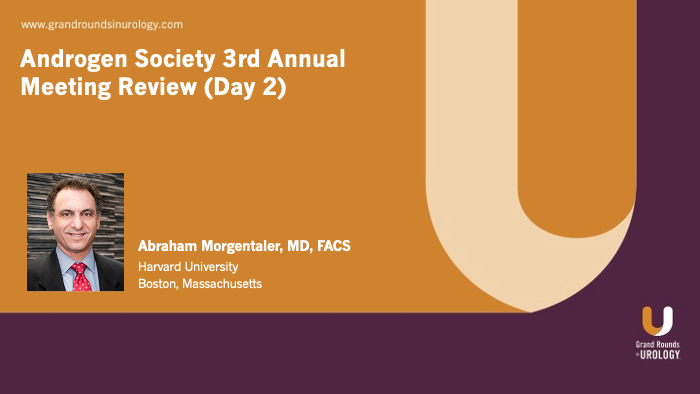 Dr. Morgentaler - Androgen Society Day Two