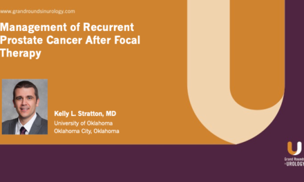 Management of Recurrent Prostate Cancer After Focal Therapy