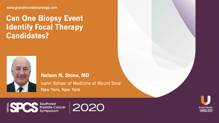 Dr. Stone - Transperineal Biopsy Focal Therapy