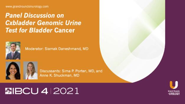 Industry Perspective: Panel Discussion on Cxbladder Genomic Urine Test for Bladder Cancer