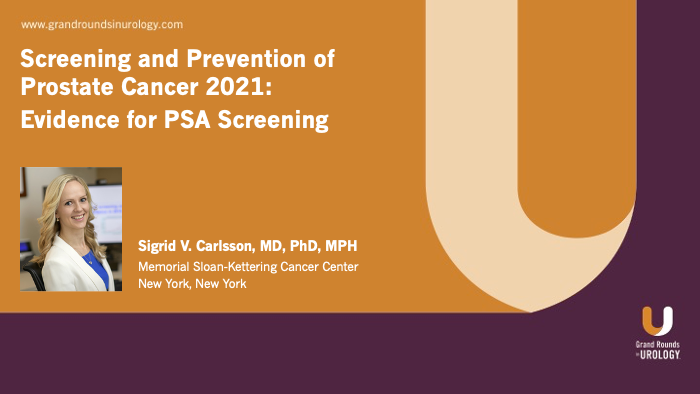 Dr. Carlsson - Evidence for PSA Screening