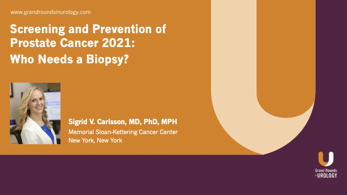 Dr. Carlsson - Screening & Prevention: Who Needs a Biopsy?