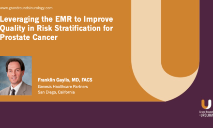 Leveraging the EMR to Improve Quality in Risk Stratification for Prostate Cancer
