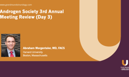 Androgen Society 3rd Annual Meeting Review (Day 3)