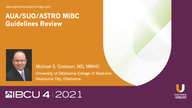 A Review of AUA / SUO / ASTRO Guidelines for MIBC