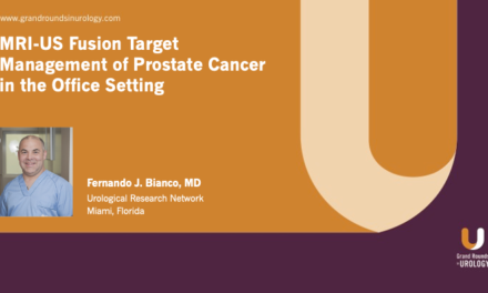 MRI-US Fusion Target Management of Prostate Cancer in the Office Setting